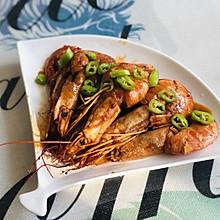 阿根廷茄汁大红虾#美食新势力#