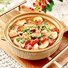 #我们约饭吧#杏鲍菇扇贝花肉煲