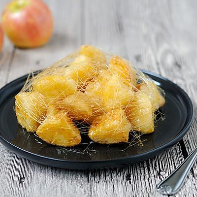 拔丝苹果 百分百成功 附炒糖过程最详细图解 适合各种拔丝菜品