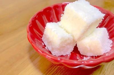 椰蓉牛奶豆腐