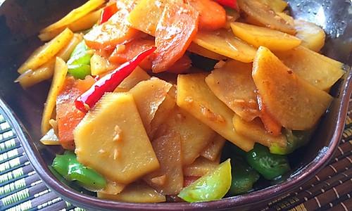鲜香土豆片的做法