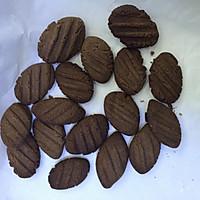 巧克力饼干(玉米油黄油混合版)的做法图解8