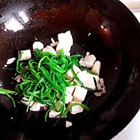 翠椒豆腐的做法图解4