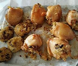 鸡翅煲饭的做法