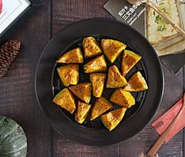 #夏日消暑,非它莫属#【柠檬海盐烤南瓜】原始食材原始烹的做法