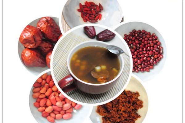 五红汤--补血养颜汤的做法
