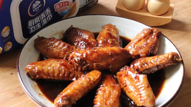 #厨房有维达洁净超省心#红烧鸡翅的做法