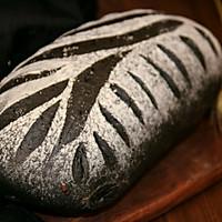 墨鱼软欧面包(四种整形手法):的做法图解2