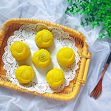 南瓜糯米蒸月饼,蒸的不上火