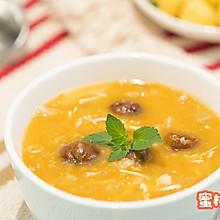 南瓜栗子鸡汤
