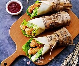#秋天怎么吃#香辣鸡肉卷的做法