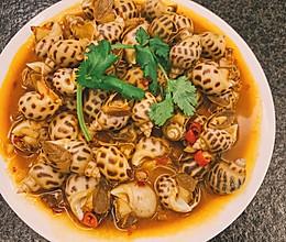 硬核下酒菜:辣煮花螺的做法