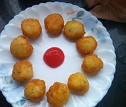 土豆泥水果丸子的做法