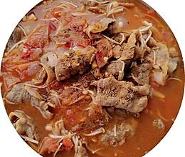 茄汁金针肥牛卷的做法