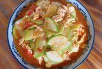 番茄西葫芦炒鸡蛋的做法