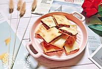 香脆绵密|虎皮蜜豆饼#换着花样吃早餐#的做法