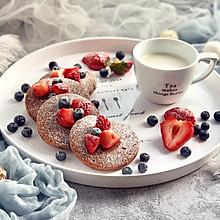 #百变水果花样吃#双莓可可松饼
