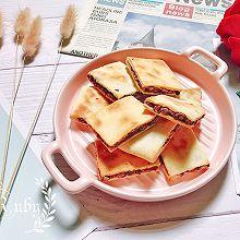 香脆绵密|虎皮蜜豆饼#换着花样吃早餐#