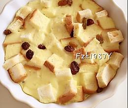蛋奶吐司布丁~简单美味的做法