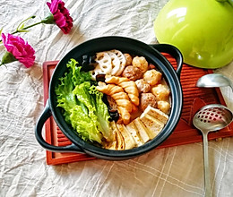 番茄芝士浓汤火锅#冬天就要吃火锅#的做法
