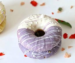 南瓜多彩甜甜圈:的做法