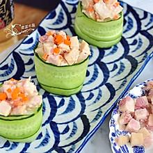 金枪鱼肠黄瓜寿司#嘉宝笑容厨房#