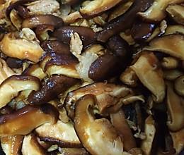 家庭版香菇炒肉片的做法