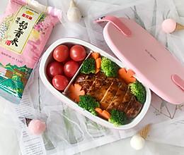 日式照烧鸡肉便当,荤素搭配营养低脂,好吃不胖!的做法