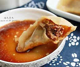 【餐桌上的旅行】南京七家湾牛肉锅贴的做法