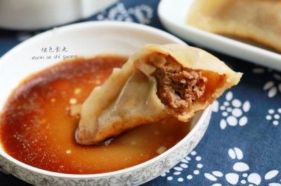 【餐桌上的旅行】南京七家湾牛肉锅贴
