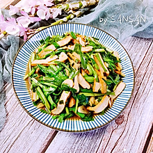独家#韭菜炒香干 鲜香下饭的小白快手菜