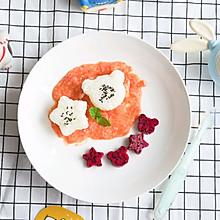 番茄鳕鱼泥烩胚芽米饭12m+
