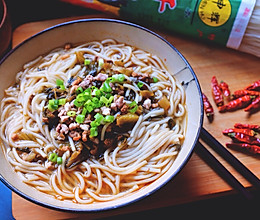 老坛酸菜米线#我要上首页挑战家常菜#的做法