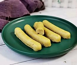宝宝香肠这样做,香糯美味—鹅肝土豆山药肠的做法