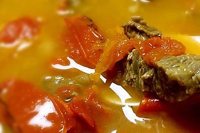 番茄炖牛腩
