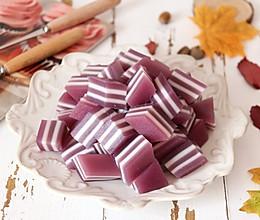 紫薯椰汁千层糕的做法