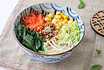 健康五谷蔬菜拌饭的做法