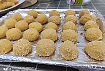 奶香椰子球的做法