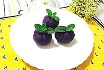 紫薯茶巾的做法