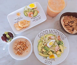 #换着花样吃早餐#营养早餐很简单的做法