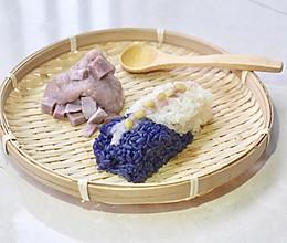香芋酱糯米饭 • 春季乡野的味道(四)的做法