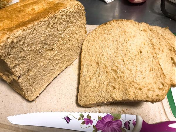 低卡全麦面包(面包机版成功率高很柔软)的做法