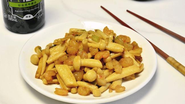 #助力高考营养餐#虾仁海鲜菇的做法