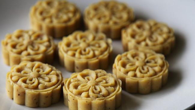 纯天然桂花绿豆糕的做法