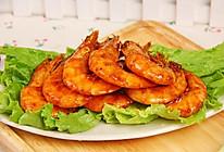 番茄沙司煎大虾的做法