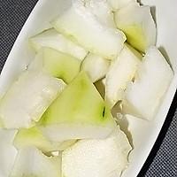 夏天健康喝汤------裙带冬瓜大骨汤的做法图解4