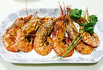 橄榄油香煎大虾#超简单美味的做法
