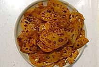 用火锅底料做超简单麻辣干锅藕片的做法