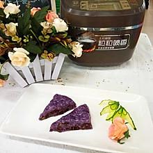 紫薯红枣切糕
