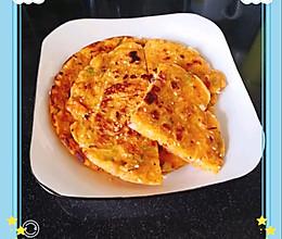休闲零食和快手早餐#韩国泡菜煎饼#的做法